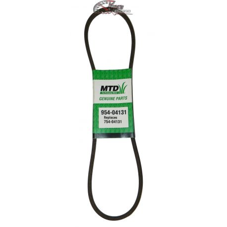 Auger belt MTD 754-04131