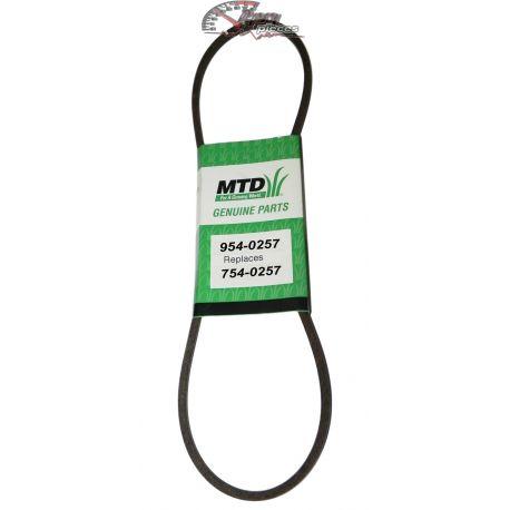 Auger belt  MTD:754-0257