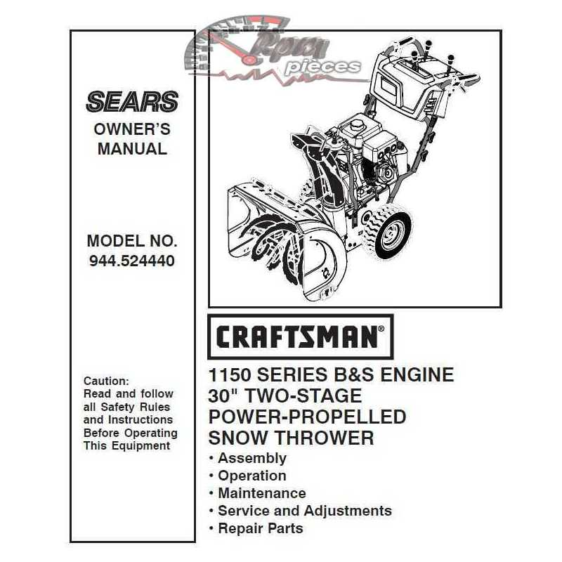 manuals for sears products